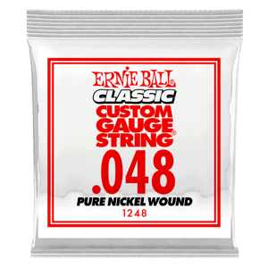 .048 Classic Pure Nickel Wound Electric Guitar String Thumb