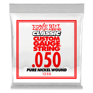 .050 Classic Pure Nickel Wound Electric Guitar String Thumb