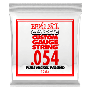 .054 Classic Pure Nickel Wound Electric Guitar Strings 6 Pack Thumb