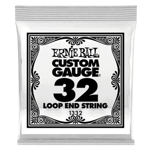 .032 Loop End Stainless Steel Wound Banjo or Mandolin Guitar Strings 6 Pack Thumb
