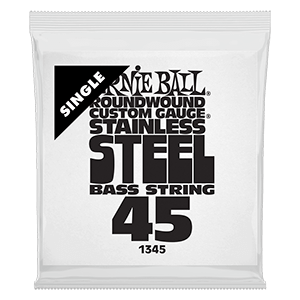 .045 Stainless Steel Electric Bass String Single Thumb