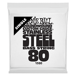 .080 Stainless Steel Electric Bass String Single Thumb