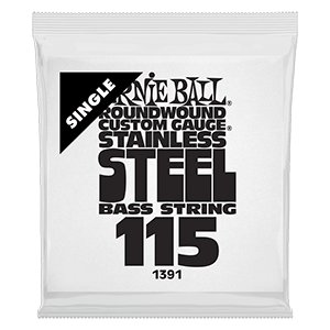 .115 Stainless Steel Electric Bass String Single Thumb