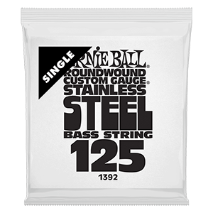 .125 Stainless Steel Electric Bass String Single Thumb