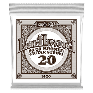 Earthwood 80/20 Bronze Acoustic Guitar Single Strings