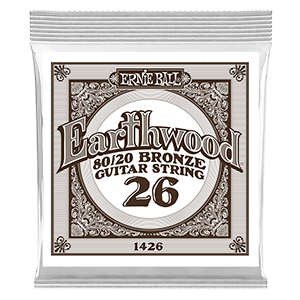 .026  Cuerda guitarra acústica Earthwood Bronze 80/20. Pack de 6 Thumb