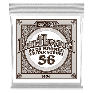 .056 Cuerda guitarra acústica Earthwood Bronze 80/20. Pack de 6 Thumb
