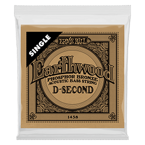 .055 Earthwood Phosphor Bronze Acoustic Bass String Single Thumb