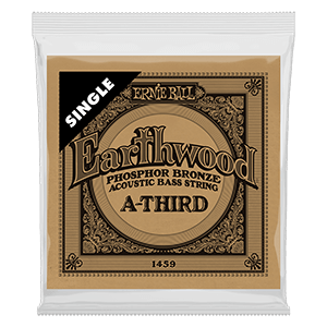 .080 Earthwood Phosphor Bronze Acoustic Bass String Single Thumb