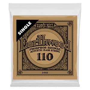 .110 Earthwood Phosphor Bronze Acoustic Bass String Single Thumb