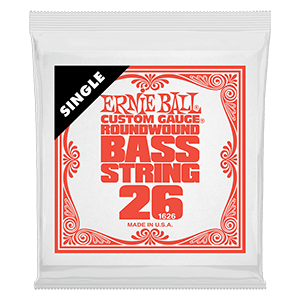 Nickel Wound Electric Bass Single Strings
