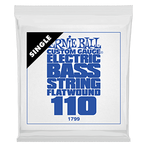 .110 Flatwound Electric Bass String Single Thumb