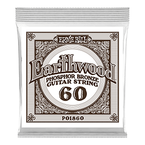 .060 Earthwood Phosphor Bronze Acoustic Guitar Strings 3 Pack Thumb