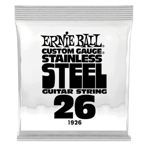 .026 Stainless Steel Wound Electric Guitar Strings 6 Pack Thumb