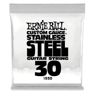 .030 Stainless Steel Wound Electric Guitar Strings 6 Pack Thumb