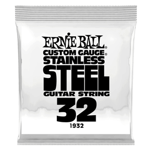 .032 Stainless Steel Wound Electric Guitar Strings 6 Pack Thumb