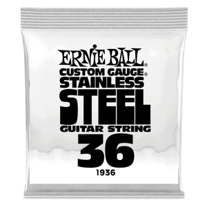 .036 Stainless Steel Wound Electric Guitar Strings 6 Pack Thumb