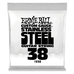 .038 Stainless Steel Wound Electric Guitar Strings 6 Pack Thumb