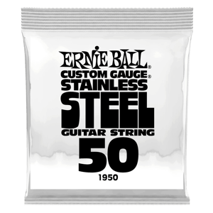 .050 Stainless Steel Wound Electric Guitar Strings 6 Pack Thumb