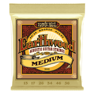 Earthwood Medium 80/20 Bronze Acoustic Guitar Strings - 13-56 Gauge Thumb