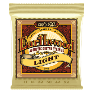 Earthwood Light 80/20 Bronze Acoustic Guitar Strings - 11-52 Gauge Thumb