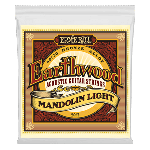 Earthwood Mandolin Light Loop End 80/20 Bronze Acoustic Guitar Strings - 9-34 Gauge Thumb