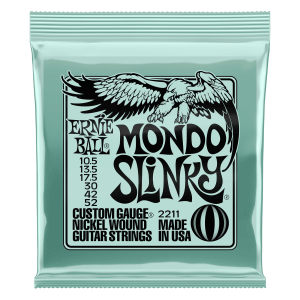 Mondo Slinky Nickel Wound Electric Guitar Strings 10.5 - 52 Gauge Thumb
