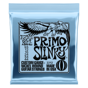 Primo Slinky Nickel Wound Electric Guitar Strings - 9.5-44 Gauge Thumb