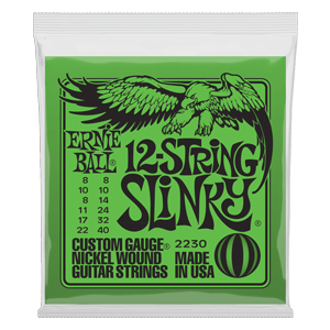 Slinky 12-String Nickel Wound Electric Guitar Strings - 8-40 Gauge Thumb