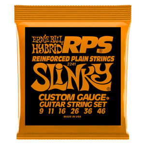 Hybrid Slinky RPS Nickel Wound Electric Guitar Strings - 9-46 Gauge Thumb