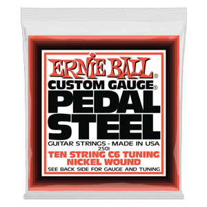 Pedal Steel 10-String C6 Tuning Nickel Wound Electric Guitar Strings - 12-66 Gauge Thumb