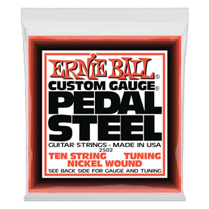 Cordas para Pedal Steel 10-String E9 Tuning Nickel Wound Thumb