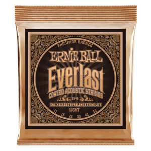 Everlast Light Coated Phosphor Bronze Akustik-Gitarrensaiten Thumb