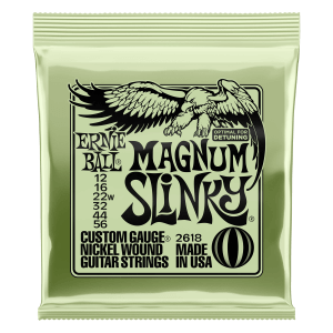 Magnum Slinky Nickel Wound Electric Guitar Strings 12 - 56 Gauge Thumb