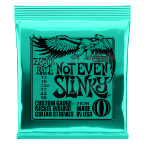 Not Even Slinky Nickel Wound Electric Guitar Strings - 12-56 Gauge Thumb