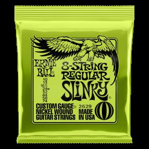 Slinky Nickel Wound Electric Guitar Extended Range Strings