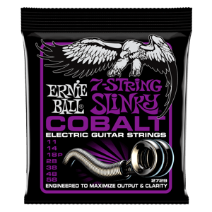 Power Slinky Cobalt  7-String Electric Guitar Strings - 11-58 Gauge Thumb