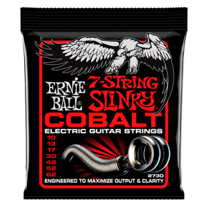 Skinny Top Heavy Bottom Slinky 7-String Cordes pour Guitare électrique Thumb