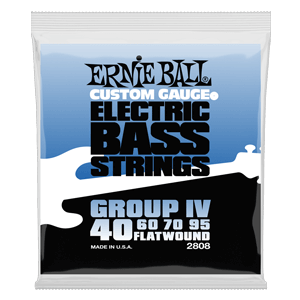 Flatwound Group IV Electric Bass Strings - 40-95 Gauge Thumb