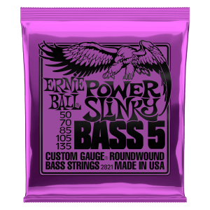 Cordas para Baixo Power Slinky 5-String Nickel Wound Thumb