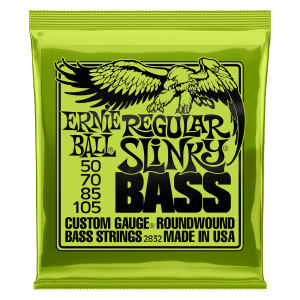Regular Slinky Nickel Wound Electric Bass Strings - 50-105 Gauge Thumb