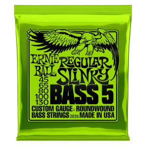 Cordas para Baixo Regular Slinky 5-String Nickel Wound Thumb