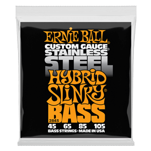 Slinky Stainless Steel Electric Bass Strings