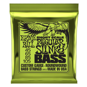 Regular Slinky Nickel Wound Short Scale Bass Strings - 45-105 Gauge Thumb