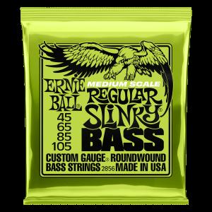 Slinky Nickel Wound Electric Bass Medium Scale Strings