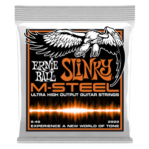 Hybrid Slinky M-Steel Electric Guitar Strings - 9-46 Gauge Thumb
