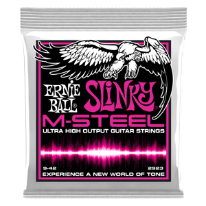 Super Slinky M-Steel Electric Guitar Strings - 9-42 Gauge Thumb