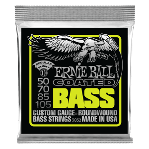 Regular Slinky Coated Electric Bass Strings - 50-105 Gauge Thumb