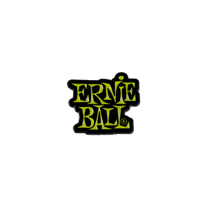 Ernie Ball Green Stacked Logo Enamel Pin Thumb