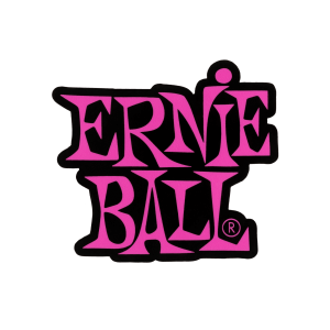 Sticker Logo Ernie Ball Rosa Thumb